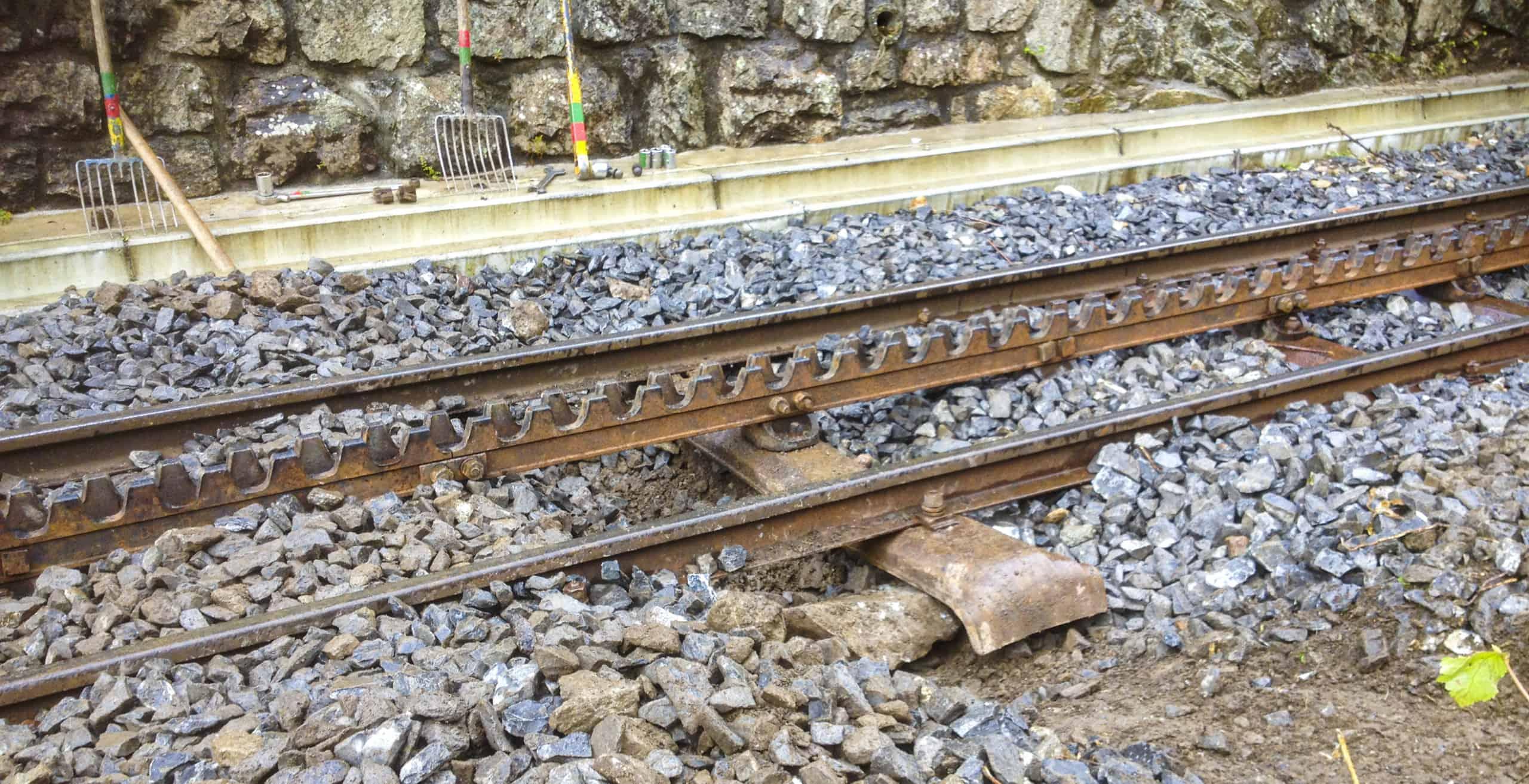 1.3.2 De spoorbaan Week 35 2014 Dwarsligger vervangen bij de Rotten 20140827 IMG_0123 Collectie VFB_NL